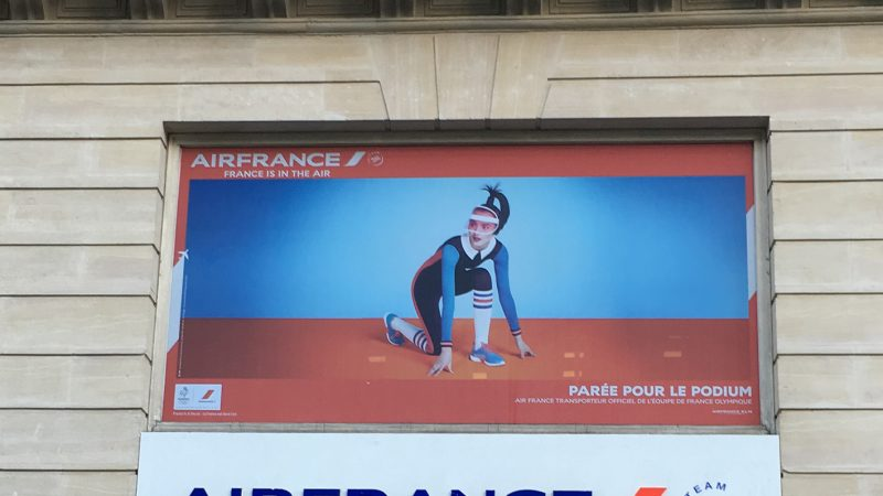 Air France transporte l'équipe de France olympique